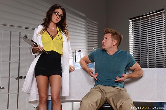 DoctorAdventures: Jessica Jaymes, Milking The Patient
