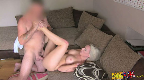 FakeAgentUK: Taylor Shay, Massive Facial for South African Babe