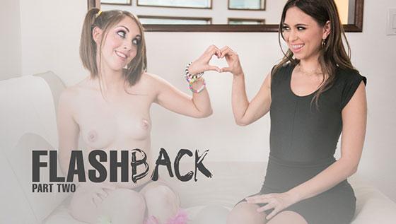 MommysGirl: Nickey Huntsman and Riley Reid, Flashback: Part 2