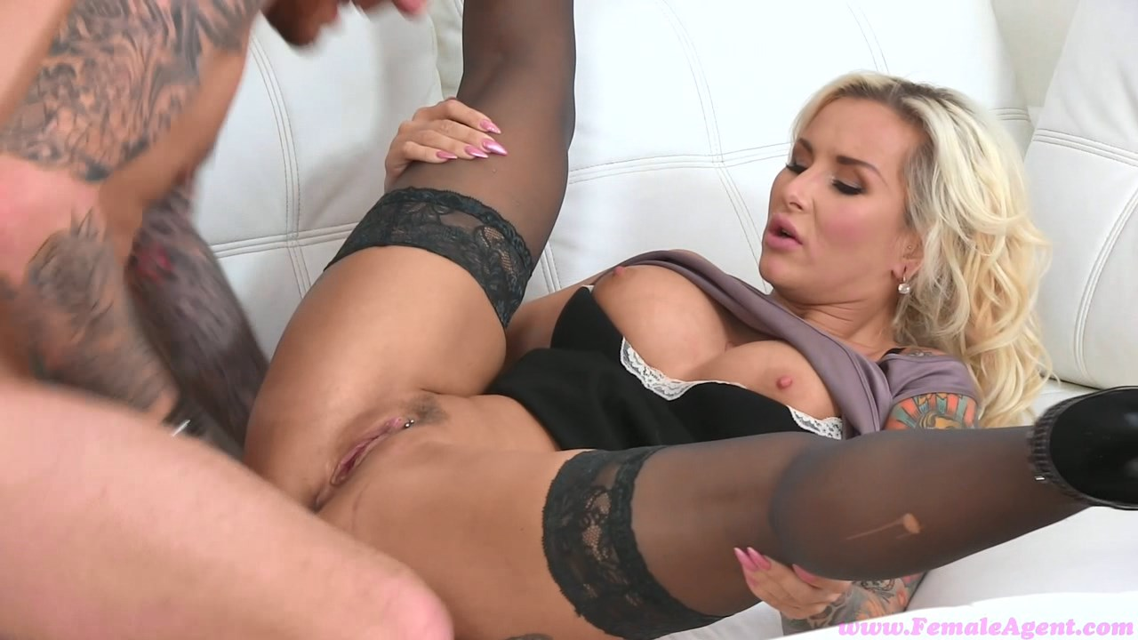 FemaleAgent: Luke, English stud loves Czech pussy