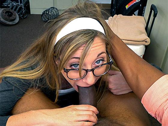 BlackLoads: Emma Haize, Emma Haize gets anal, balls deep!