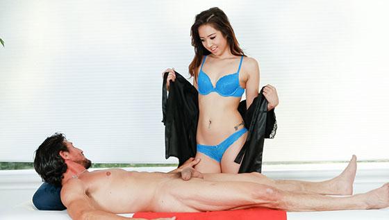 DevilsFilm: Mila Jade, Strip Mall Asian Massage