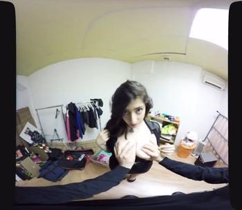 Fantasias VR: La becaria sabe como convencerme para ganarse un puesto de trabajo