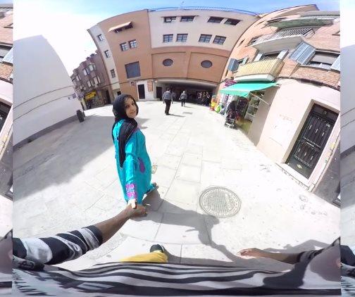 Fantasias VR: Mi novia musulmana decide que ha llegado el día: desvírgame mi amor.