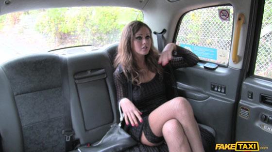 FakeTaxi: Tina Kay, Hot Posh Lady Seduces Driver
