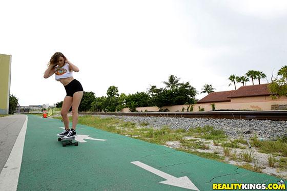 WeLiveTogether: Averi Brooks, Alex Blake Skater Chicks