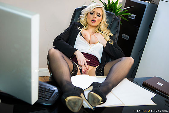 BigTitsAtWork: Katy Jayne Fix My Computer, Then Fuck My Pussy!