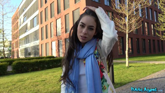 PublicAgent: Arwen Gold, Public Fucking With A Lost Russian