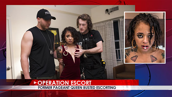 OperationEscort: Holly Hendrix, Former Pageant Queen Busted Escorting / E06