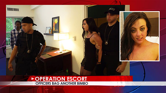 OperationEscort: Whitney Wright, Officers Bag Another Bimbo / E01