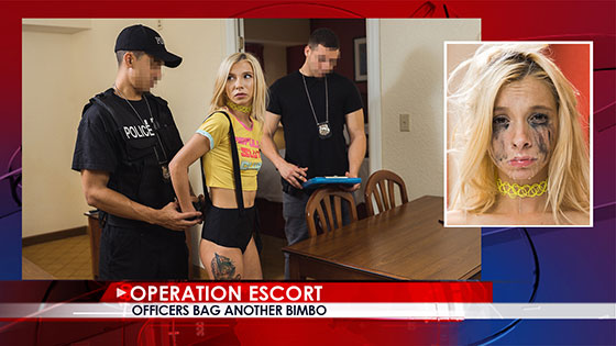 OperationEscort: Kenzie Reeves, Officers Bag Another Bimbo / E12