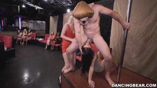 Dancing Bear: Shy Girls Turn into Horny Beasts